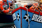 St Piran Prints - Working Harbour Print by Terri  Waters