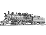 Shipping Drawings - Working Steam Engine by Calvert Koerber