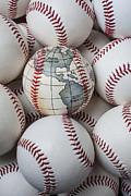 World Baseball Print by Garry Gay