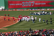 Red Sox Art - World Champions by Stephen Melcher