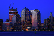 New York City Skyline Framed Prints - World Financial Center New York Framed Print by Rick Berk