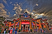 Downtown Disney Photos - World Of Disney HDR by Jason Blalock