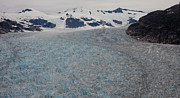 Glaciers Prints - World of Ice Print by Mike Reid