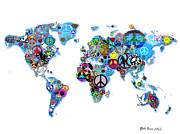 World Peace Art - World Peace by Bill Cannon