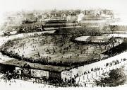 Baseball Game Framed Prints - World Series, 1903 Framed Print by Granger