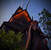World Pyrography - World Showcase - Norway Pavillion by AK Photography