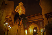 World Showcase Framed Prints - World Showcase - Morocco Pavillion Framed Print by AK Photography