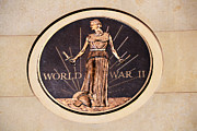 Justice Framed Prints - World War 2 Memorial Framed Print by Angelina Vick