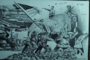World War 2 Drawings Prints - World War 2 Print by Zachary  Capodici