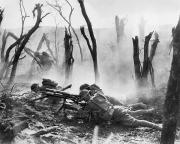 Artcom Photos - World War I: Battlefield by Granger