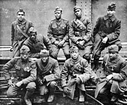 Regiment Prints - World War I: Black Troops Print by Granger