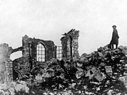 Devastation Prints - World War I, Devastation In Montfaucon Print by Everett
