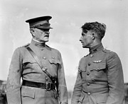 Pershing Photos - World War I, General John J. Pershing by Everett