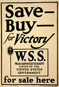 1910s Poster Art Posters - World War I, Poster - Save - Buy - Poster by Everett