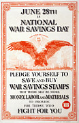 World War I, Poster In The Style Print by Everett