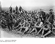 Bayonet Photo Prints - World War I: Prisoners Print by Granger