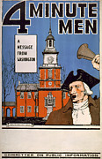 1910s Poster Art Posters - World War I, Town Crier, With Bell Poster by Everett