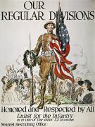 Flagg Posters - World War I: U.s. Army Poster by Granger