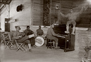 Jazz Pianist Photos - World War I, U.s. Army Jazz Band, Circa by Everett