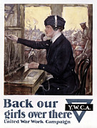 Home Front Prints - World War I: Ywca Poster Print by Granger