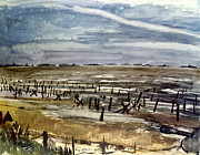 Bradley Paintings - World War Ii - Normandy by Granger