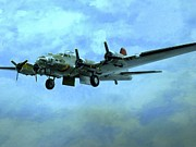 Airplane Engine Photos - World War II Airplanes by Randall Weidner