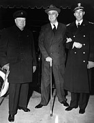 British Prime Minister Photos - World War Ii. From Left  British Prime by Everett
