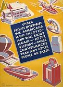 World War II Poster Reassuring Print by Everett