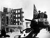 World War II, Russian Winter Offensive Print by Everett