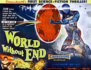 B-movie Art - World Without End, Bottom Left Nancy by Everett