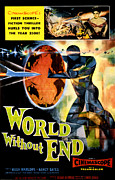 1956 Movies Posters - World Without End, Lisa Montell Top Poster by Everett