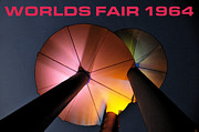 Disc Posters - Worlds Fair 1964 work B Poster by David Lee Thompson