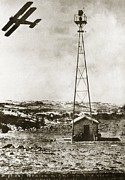 American Aviation Art - Worlds Highest Beacon Light, 1920s by Miriam And Ira D. Wallach Division Of Art, Prints And Photographsnew York Public Library