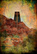 Worship In Sedona Print by Dale Stillman