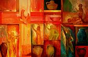 Christian Art Paintings - Worship by Jun Jamosmos