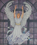 Ruth Gee Metal Prints - Worship Metal Print by Ruth Gee