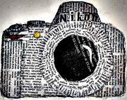 Camera Mixed Media - Worth 1000 Words by William Beasley