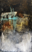 Abstracts Mixed Media Prints - Worth A Shot Print by Michel  Keck