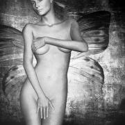 Nudes Digital Art Prints - Worth II Print by Photodream Art