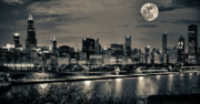 Skylines Digital Art Posters - Wouldnt it be nice Poster by Donald Schwartz