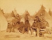 Survivors Prints - Wounded Knee Survivors Print by Pg Reproductions