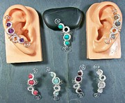 Jordan Jewelry - Woven Gemstone Ear Cuff by Heather Jordan