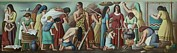 Works Progress Administration Art - Wpa Mural. Contemporary Justice by Everett