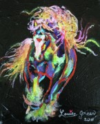 Wraggle Taggle Gypsy Cob Print by Louise Green