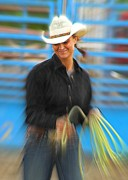 Cowgirl Photos - Wrangler by Rick  Monyahan