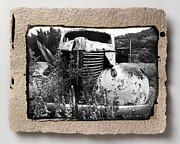 Rust Pyrography Metal Prints - Wreck 1 Metal Print by Mauro Celotti