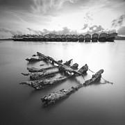 Wreck Print by Teerapat Pattanasoponpong