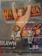 Blockbuster Art - Wrestlemania by Sandeep Kumar Sahota