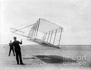 Tester Posters - Wright Brothers Test Early Glider, 1901 Poster by Science Source