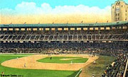 Baseball Stadiums Posters - Wrigley Field In Los Angeles Ca In 1937 Poster by Dwight Goss
